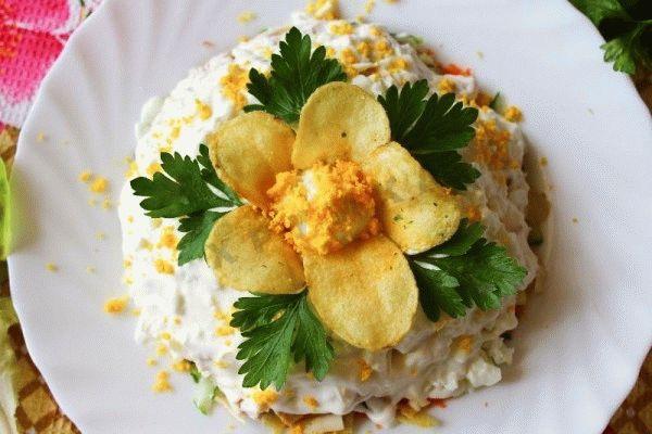 Салат корель пальчики оближешь вкуснотища необыкновенная