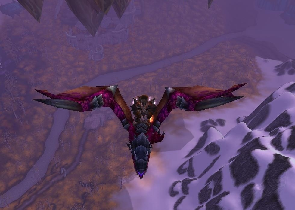 Violet proto drake