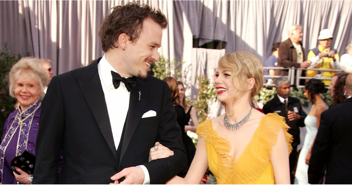 Pictures of heath ledger and michelle williams