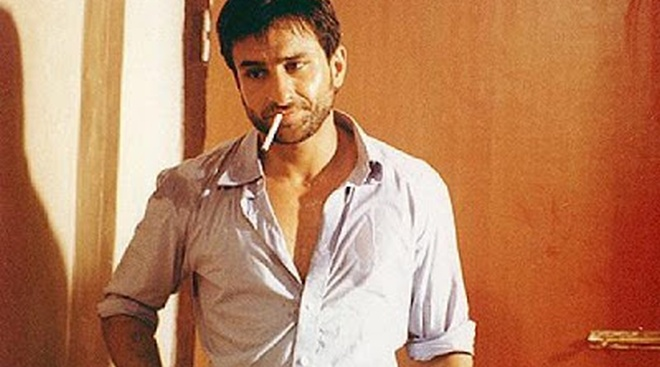 Image result for saif ali khan smoking