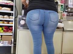 Ass cuzao tesao na padaria