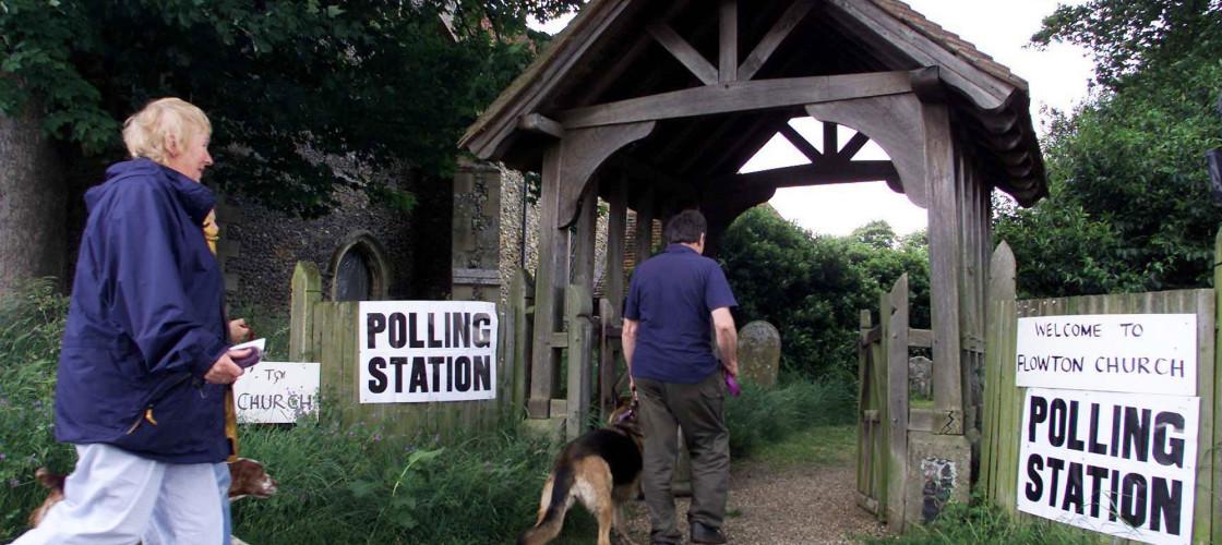 Church polling station