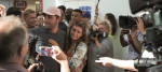 : Last year's Love Island winners, Jack Fincham and Dani Dyer, arrive home to paparazzi