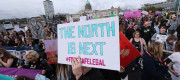 NI abortion laws protest
