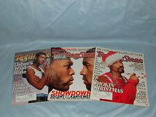 """Holiday Living Black/White Zebra Adult Santa Hat w/Red """"Naughty"""" Cuff & Pom Pom"""