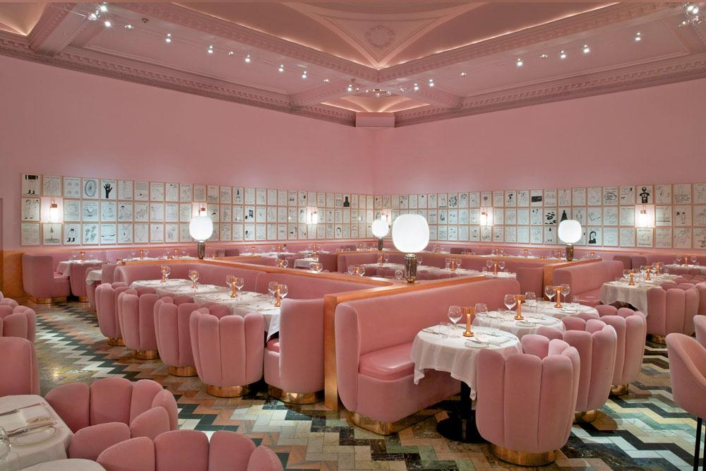 Pink bar london