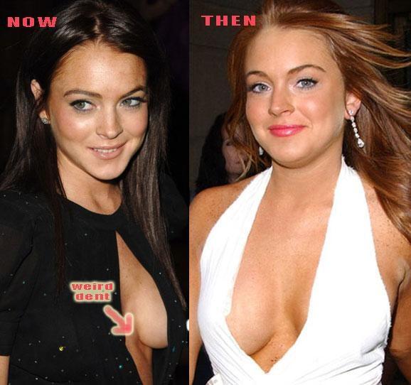 Female celebrities boobs
