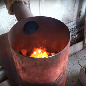 Печь длительного горения своими руками бубафоня чертежи