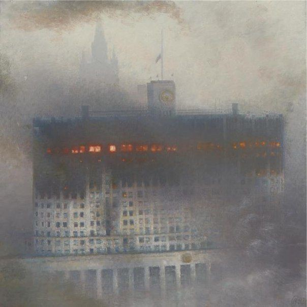 Дом Правительства Российской Федерации, Москва, 1993 год. история, смотреть, фото