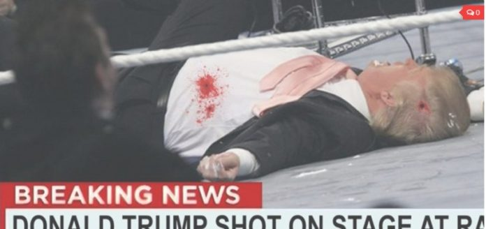 Donald trump shot