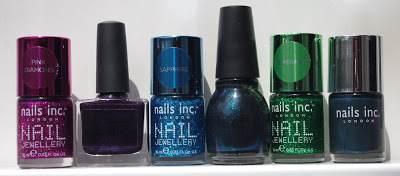 Nails inc burlington arcade nail jewellery