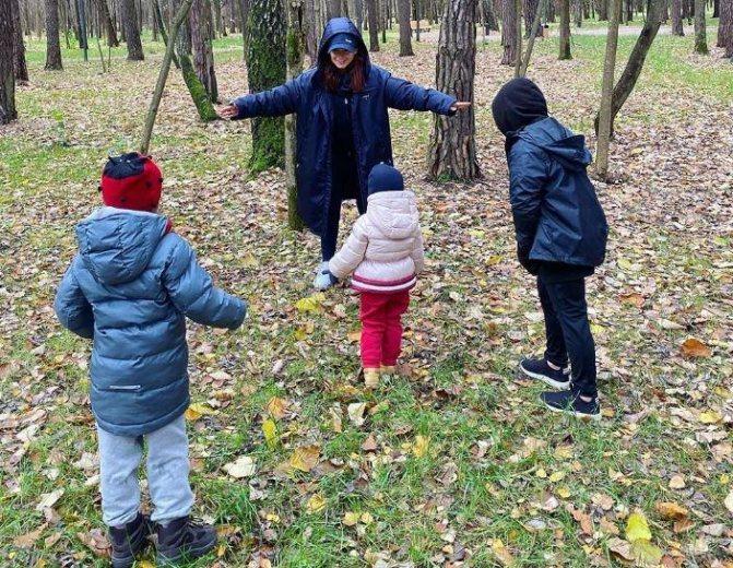 Мирослава Дума с детьми. Фото