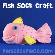 Sock fish Craft
