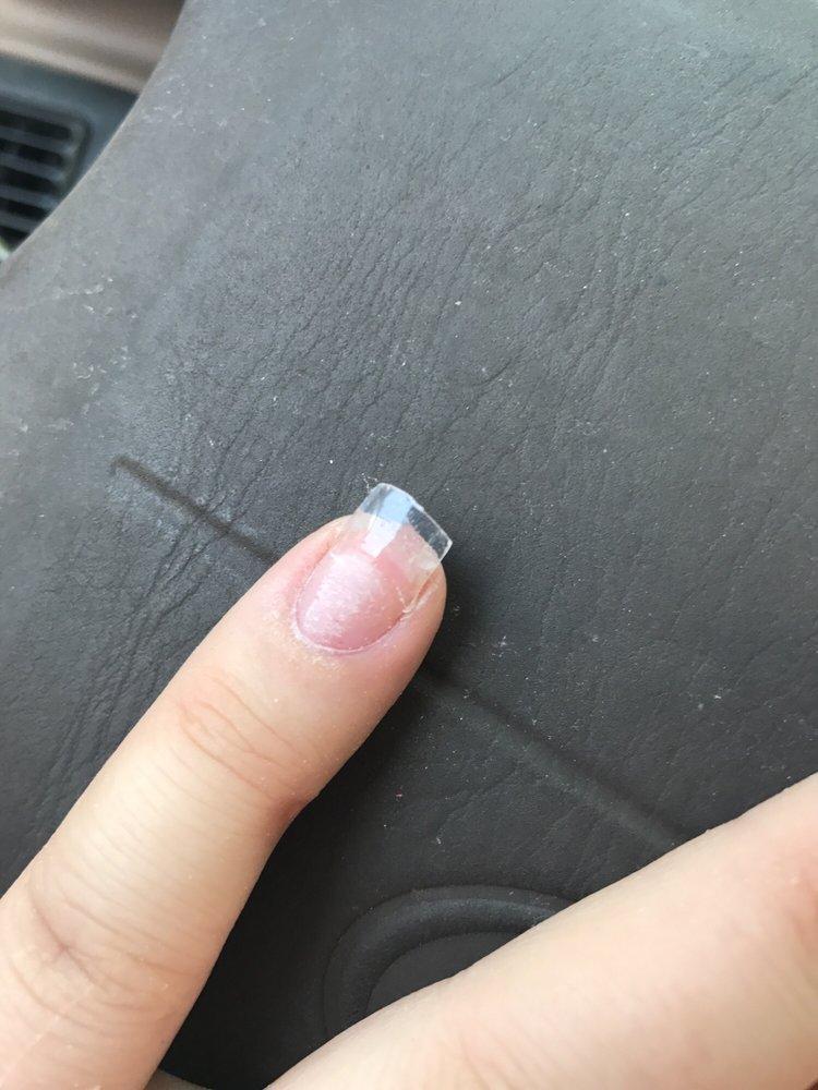 Flimsy nails