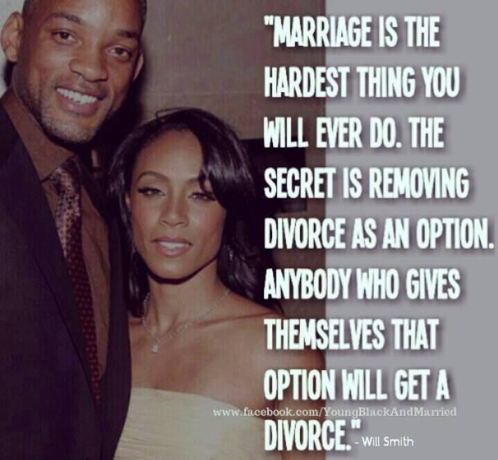Will smith marriage divorce