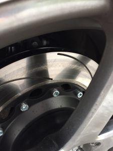 Замена тормозных дисков Опель Антара