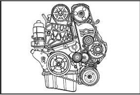 ремень генератора на опель дизель