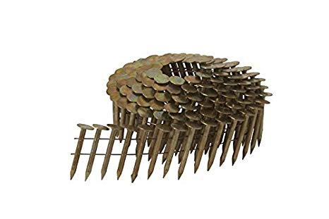 How many roofing nails in a coil