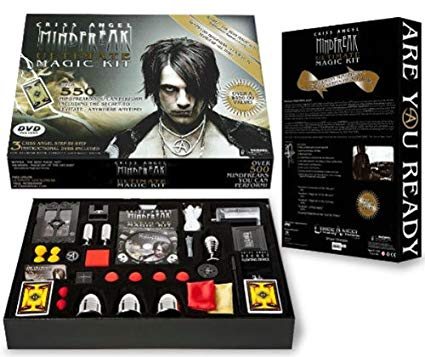 How much does the criss angel magic kit cost