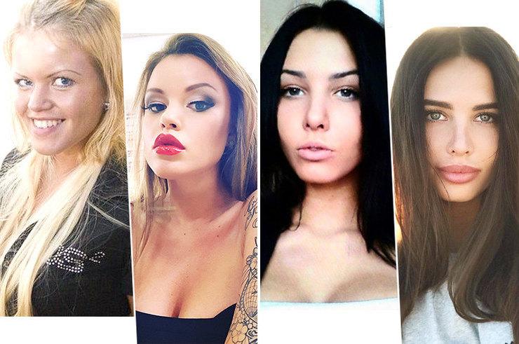 Ты их неузнаешь! 12 звезд российского Instagram дои после пластики