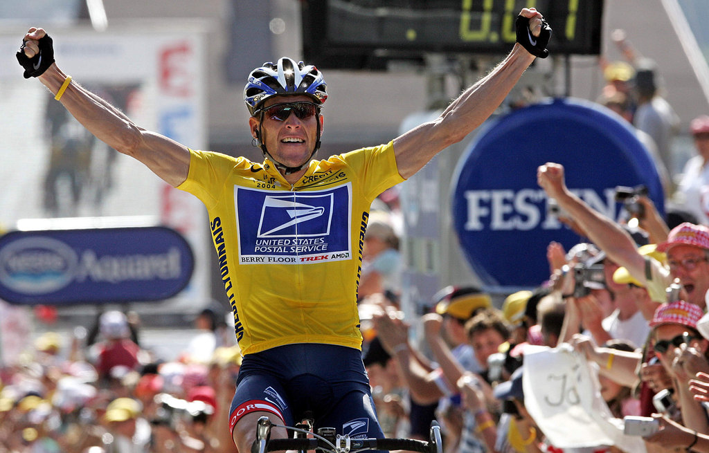 Is lance armstrong in the 2012 tour de france