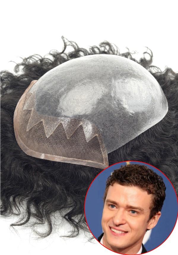 Lace Front hair piece for men