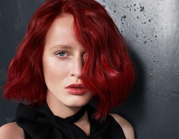 Красно рыжий