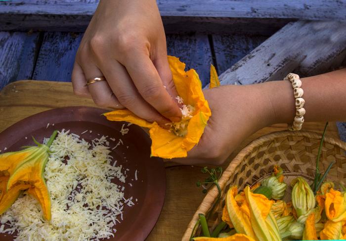 Цветы кабачков рецепт