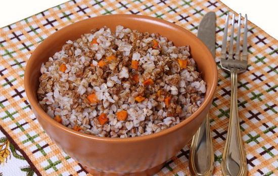 Гречка с помидорами и морковью рецепт