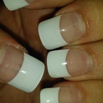 Acrylic nails yellowing