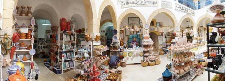 магазины в Тунисе