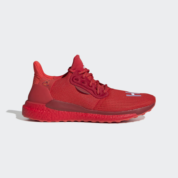 Pharrell williams shoes red