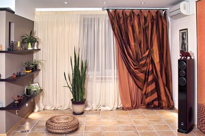 Как обновить старые шторы своими руками