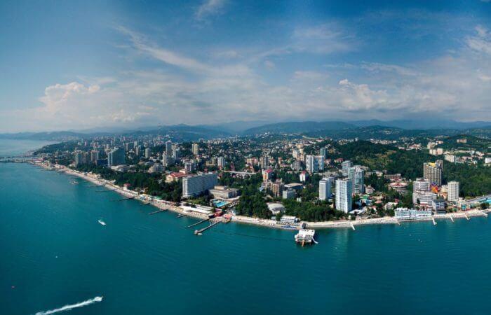 Курортные поселки черноморского побережья