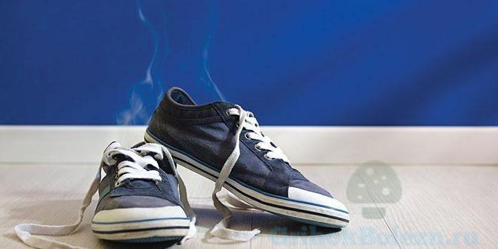 Грибок ногтей обработка обуви
