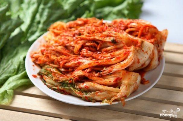 Рецепт китайской капусты маринованной