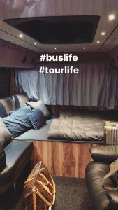 Bill Kaulitz Instagram Stories - 11.03.2017 - Tourbus