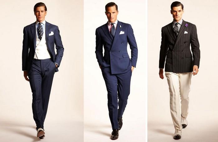 Классический стиль мужской одежды фото