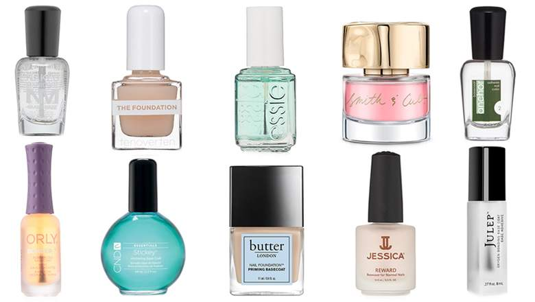 Base coats for nails