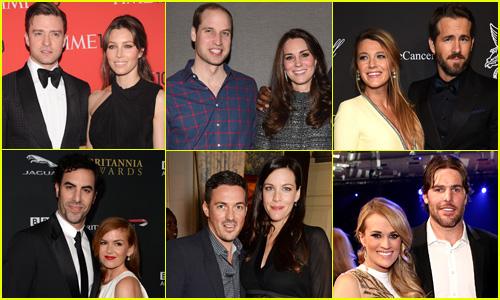 Pregnant celebrities in 2014