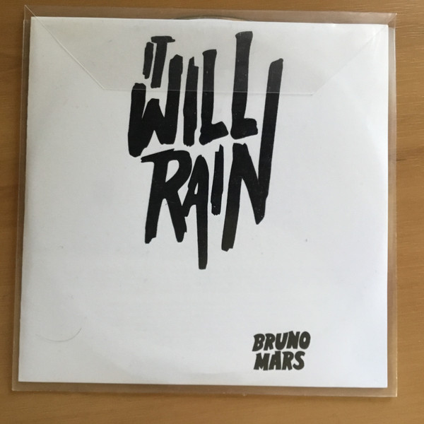 Bruno mars it will rain cd release date