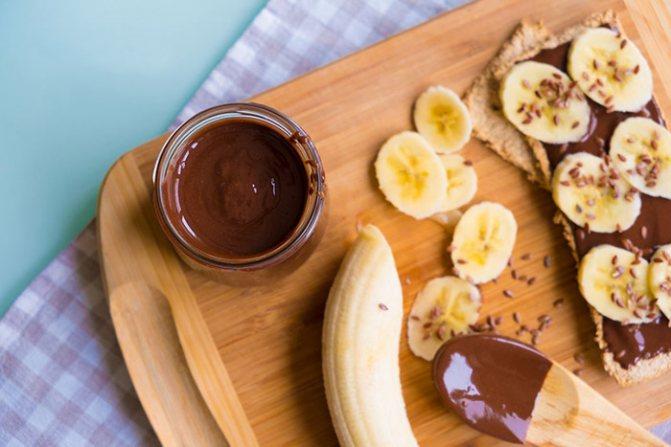 Шоколадная паста из сгущенки и какао