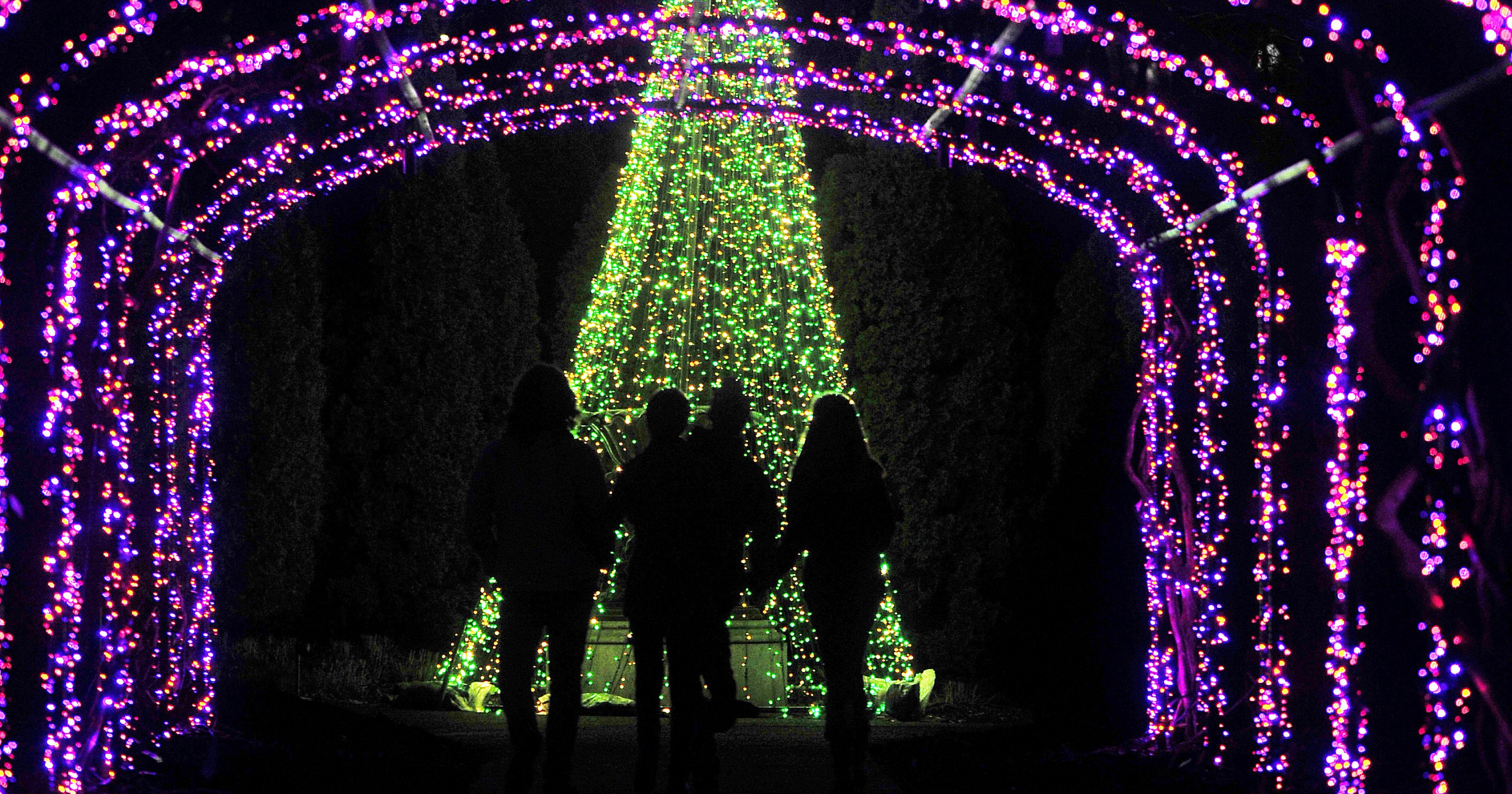 the spirit of the holiday season is felt from the moment you walk into holiday lights this year were illuminating our gardens with one million holiday - Jellystone Park Nashville Christmas Lights