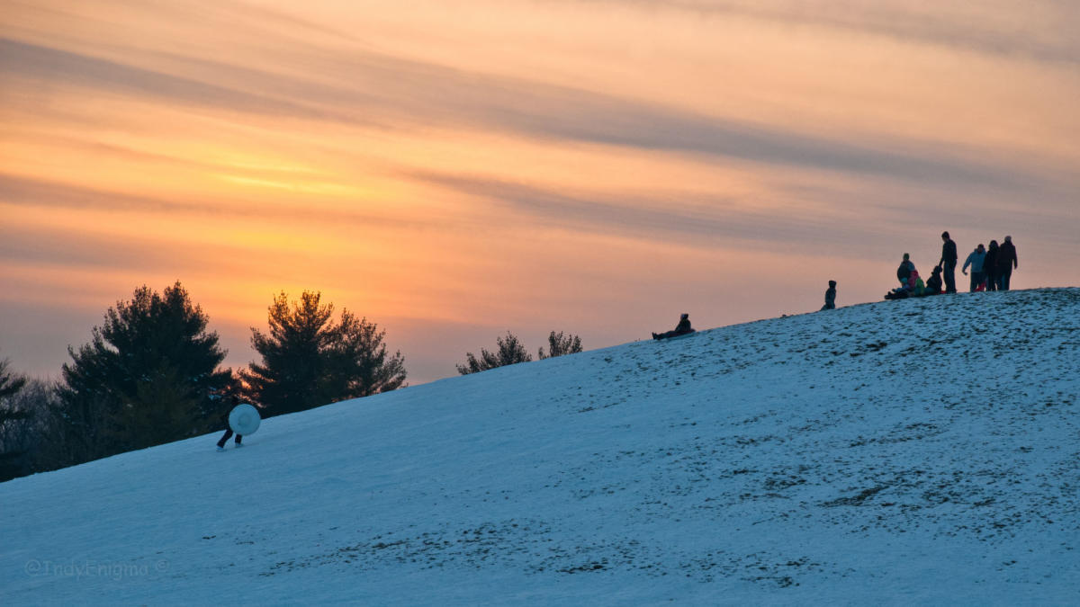 Where To Go Sledding In Indy - The best sledding hills in north america