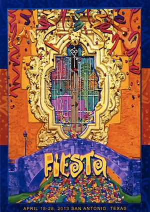 Gallery Fiesta San Antonio Official Posters 19