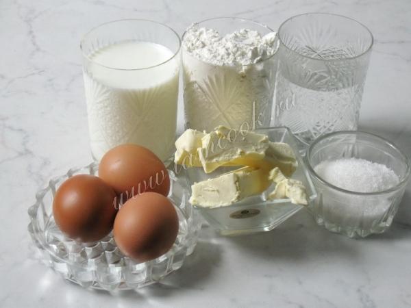 Заварной крем для эклеров рецепт с фото пошагово в домашних условиях