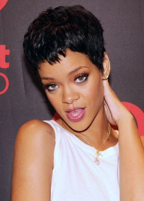 Pictures of rihanna hairstyles 2011