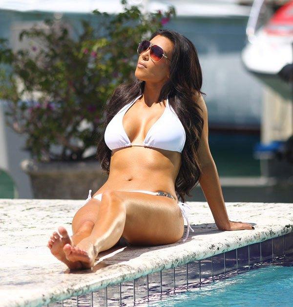 Kim Kardashian on Photoshoot
