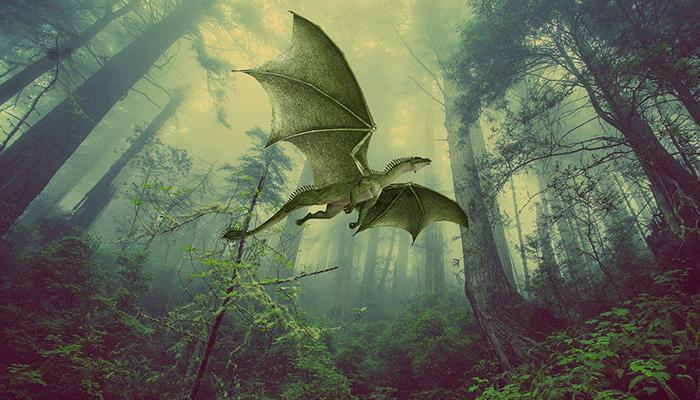 К чему снится дракончик