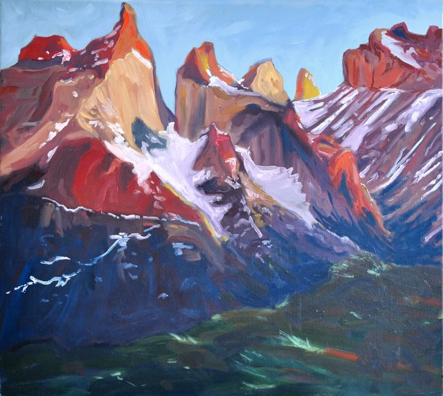 Clement Loisel - Red mountain
